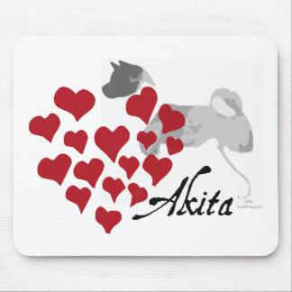 Akita Love Mousepad