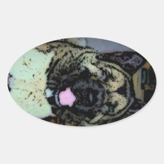 Akita Love Stickers