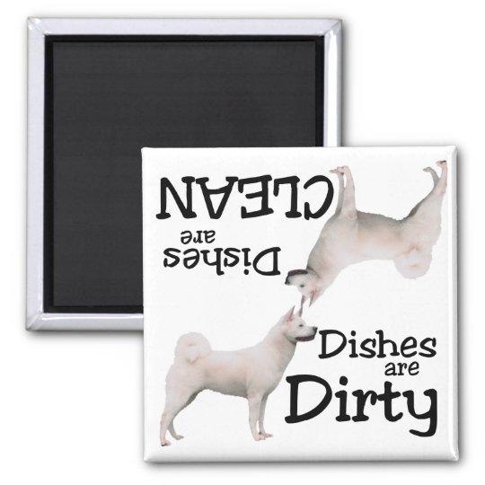 Akita Lovers Dishwasher Magnet