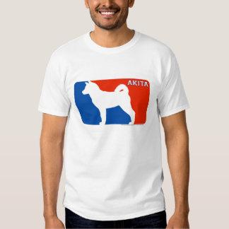 Akita Major League Dog T-Shirt