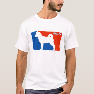 Akita Major League Dog T-Shirt