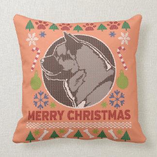 Akita Merry Christmas Ugly