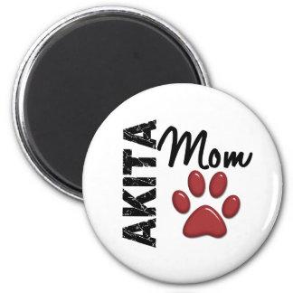 Akita Mom 2 Magnet