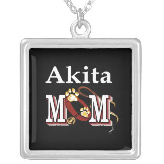 Akita Mom Gifts Necklace