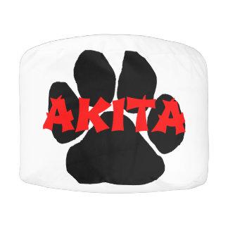 akita name paw pouf