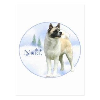 Akita Noel Postcards