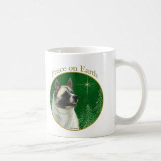Akita Peace Coffee Mug