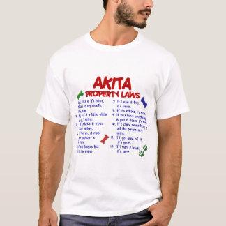 AKITA Property Laws 2 T-Shirt