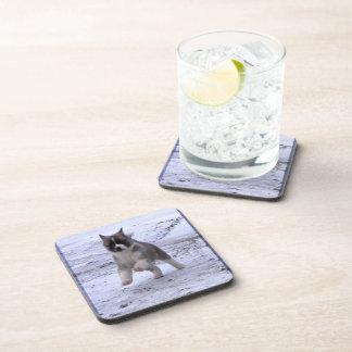 Akita Pup Drink Coaster