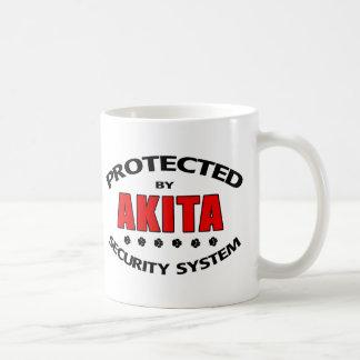 Akita Security System Coffee Mugs