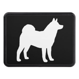Akita Silhouette Tow Hitch Covers