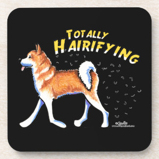 Akita Totally Hairifying Coaster