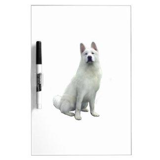 Akita - White Dry-Erase Board