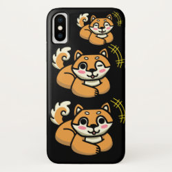 Case-Mate Barely There iPhone X Case with Akita Phone Cases design