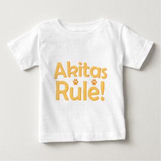 Akitas Rule! Baby T-Shirt
