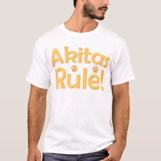 Akitas Rule! T-Shirt