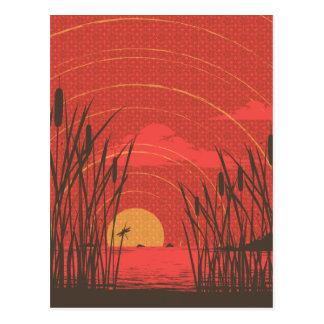Akitsu Shima Post Card