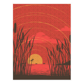 Akitsu Shima Postcard
