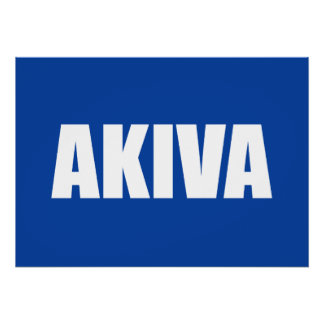 Akiva Posters
