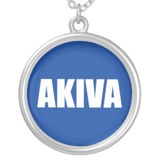 Akiva Silver Plated Necklace