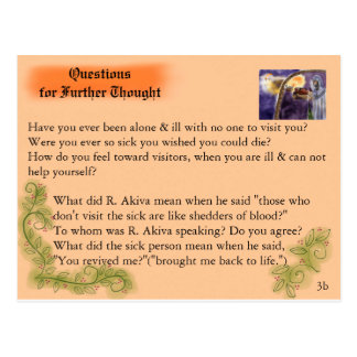 Akiva visits the Outcast Postcard