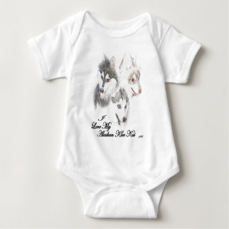 AKK Love Baby Bodysuit