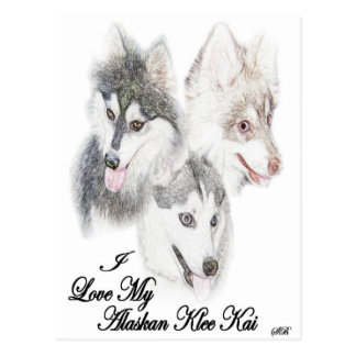 AKK Love Postcard