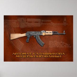 AKM ruso Impresiones