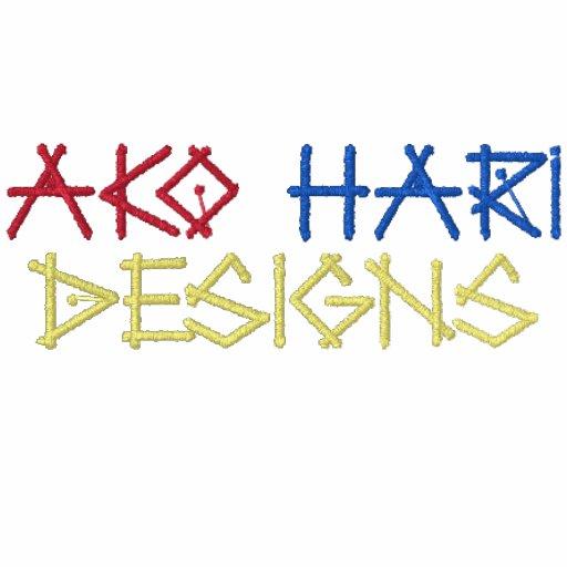 Ako  Hari   Designs -----> Stitched Embroidered Hoody