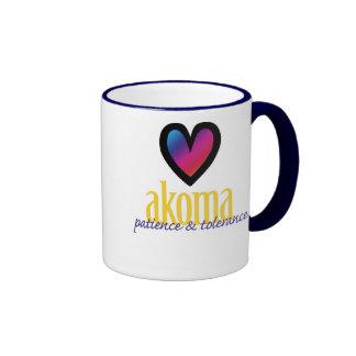 Akoma Ringer Coffee Mug