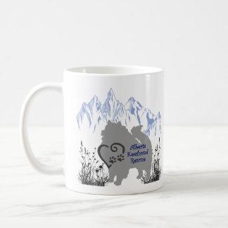 AKR Logo - Blue Grey - Coffee & Kees Fur Coffee Mug