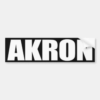 Akron Bumper Sticker