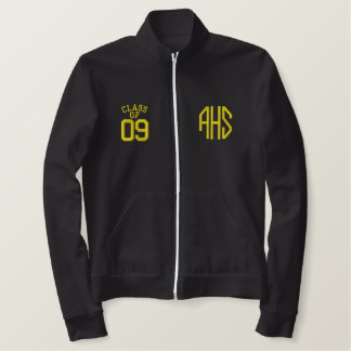 Akron East High School Embroidered Track Jacket