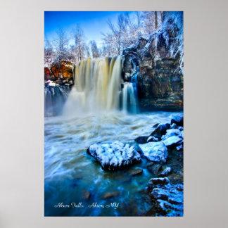 Akron Falls Print