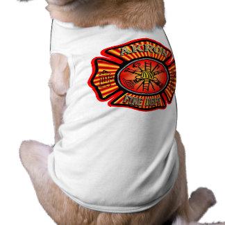 Akron Fire Department Dog Shirt. Tee
