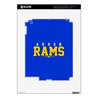 Akron High School; Rams iPad 3 Skins