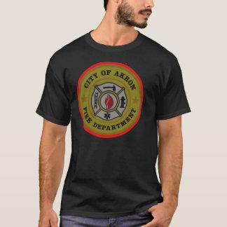 Akron Ohio Fire Department Shirt. T-Shirt