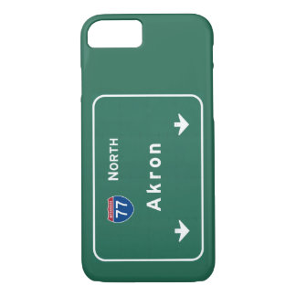 Akron Ohio oh Interstate Highway Freeway : iPhone 8/7 Case
