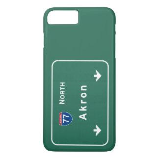 Akron Ohio oh Interstate Highway Freeway : iPhone 8 Plus/7 Plus Case