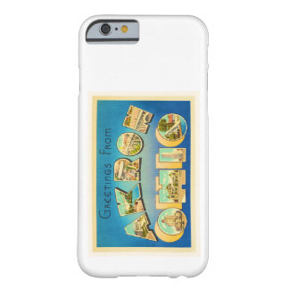 Akron Ohio OH Old Vintage Travel Souvenir Barely There iPhone 6 Case