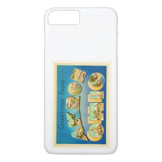 Akron Ohio OH Old Vintage Travel Souvenir iPhone 8 Plus/7 Plus Case