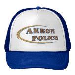 Akron Ohio Police Department Hat. Trucker Hat