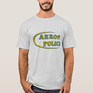 Akron Ohio Police Department Shirt. T-Shirt