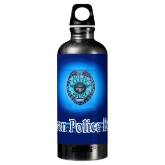 Akron Ohio Police Department Water Bottle. SIGG Traveler 0.6L Water Bottle