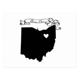 Akron Ohio Postales