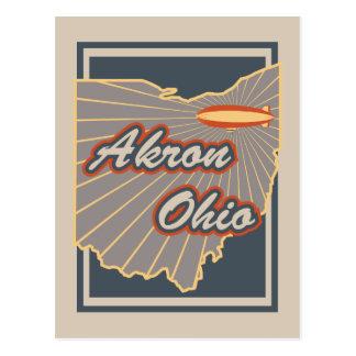 Akron, Ohio Postcard - Travel Postcard v2