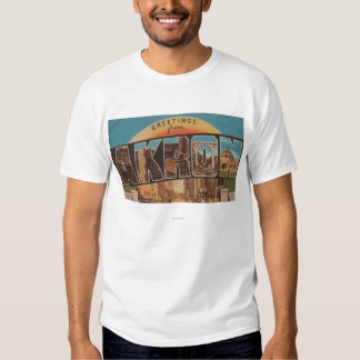 Akron, OhioLarge Letter ScenesAkron, OH T-shirt