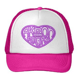 Akron oscila el sombrero de la cerradura tres gorro de camionero