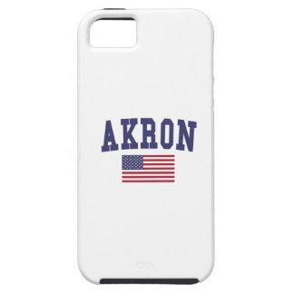 Akron US Flag iPhone SE/5/5s Case