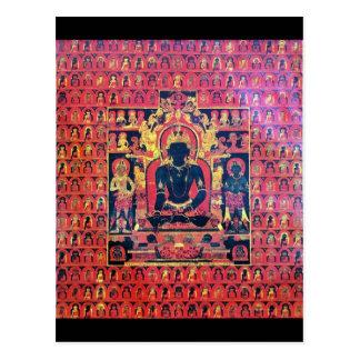 Akshobya Buddha Altar Card Postcards